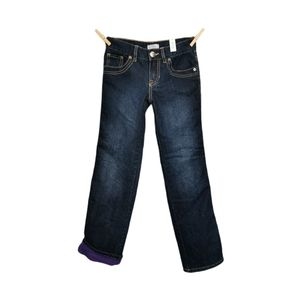 8 YEARS CHILDRENS PLACE, FLEECE LINED WINTER JEANS NWT